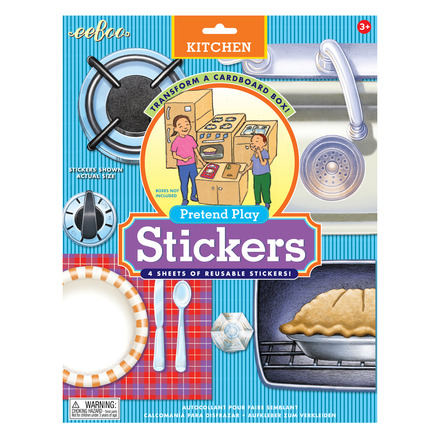 Kitchen Pretend Play Stickers picture