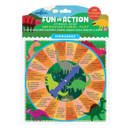 Dinosaur Fun in Action Spinner Game picture