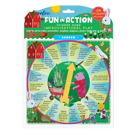 Garden Fun in Action Spinner Game picture