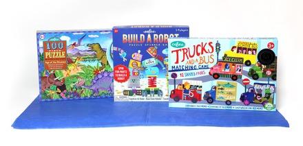 Dinosaurs, Robots, Trucks Bundle picture