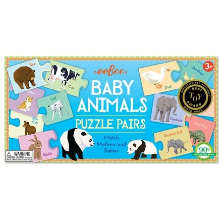 Baby Animals Puzzle Pairs picture