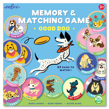 Good Dog Memory Game picture