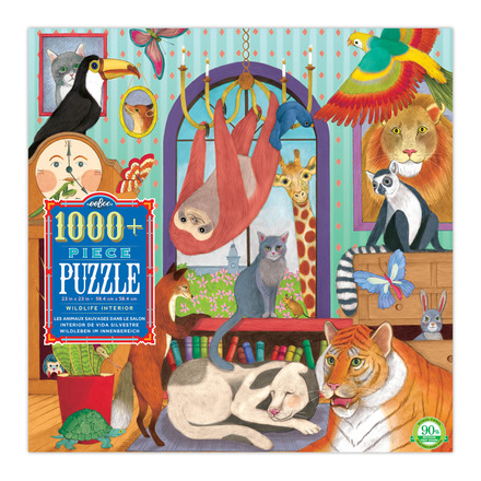 Wildlife Interior 1008 Piece Puzzle picture
