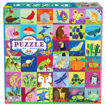 Portraits of Nature 64pc Puzzle picture