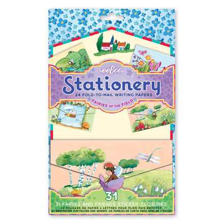 Fairies of the Field Fold-to-Mail Stationery Set picture