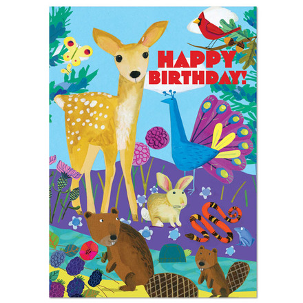 Life on Earth Birthday Card picture