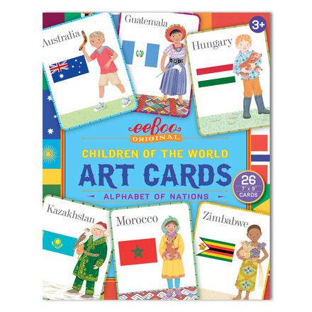 Children of the World Art Cards picture