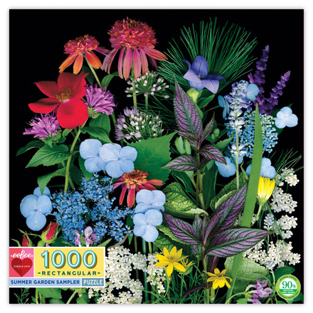 Summer Garden Sampler 1000pc Rtg 11x11bx picture