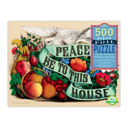 Peace Be to this House 500 Piece Puzzle picture