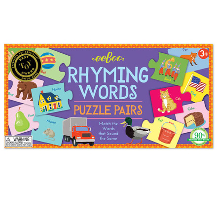 Rhyming Words Puzzle Pairs picture