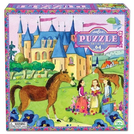 Castle 64 Piece Puzzle picture