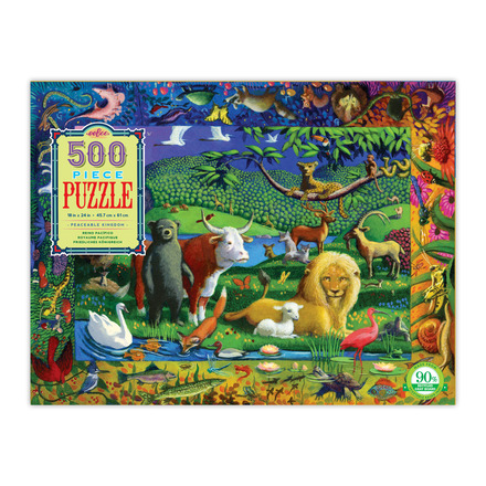 Peaceable Kingdom 500 Piece Puzzle picture