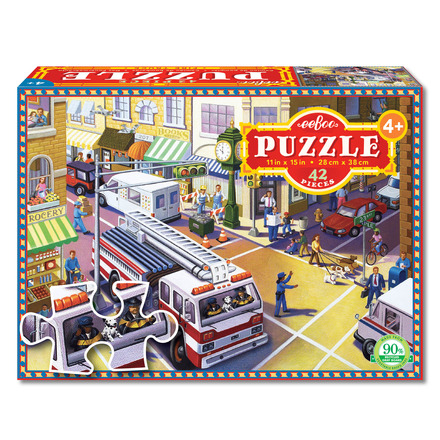 Fire Truck 42 Piece Puzzle picture