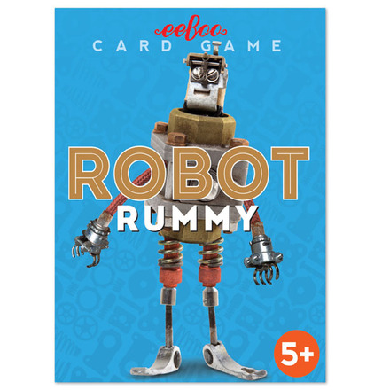 Robot Rummy Playing Cards picture