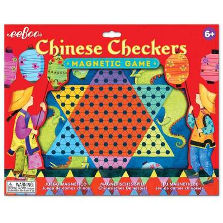 Chinese Checkers Magnetic Game picture