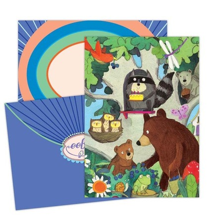 Birthday Tree Card picture