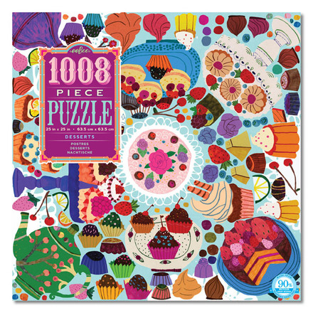 Desserts 1000pc Puzzle picture