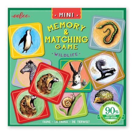 Mini Wildlife Memory Game picture