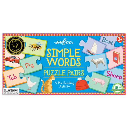 Simple Words Puzzle Pairs picture