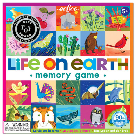 Life On Earth Square Matching Game picture