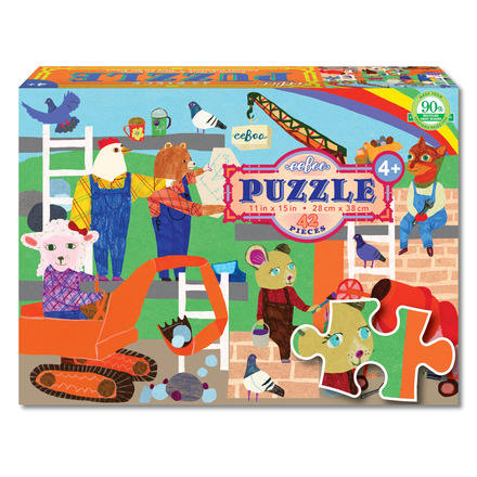 Animals at Work 42 Piece Puzzle picture