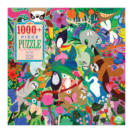 Sloths 1008 Piece Puzzle picture