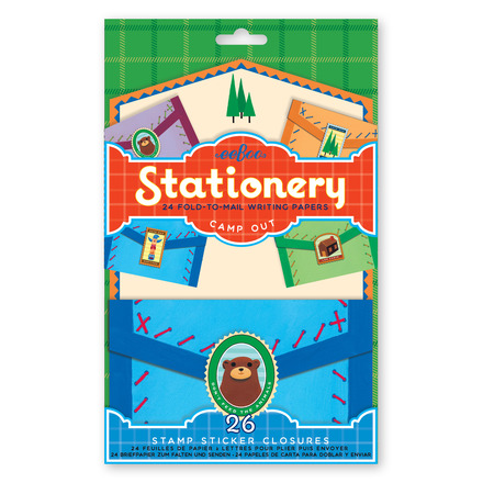 Camp Out Fold-to-Mail Stationery Set picture