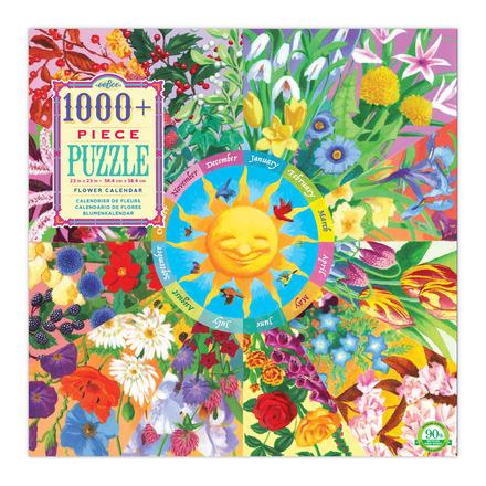 Flower Calendar 1008 Piece Puzzle picture