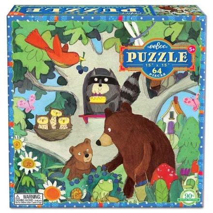 Birthday Tree 64 Piece Puzzle picture