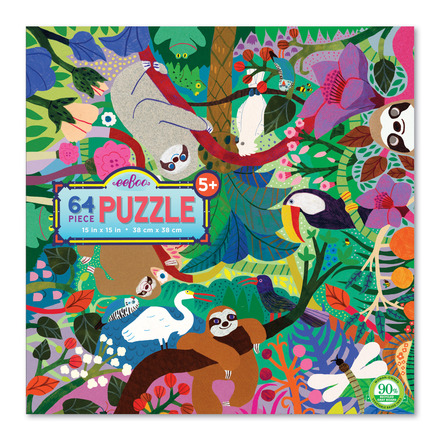 Sloths at Play 64 Piece Puzzle picture