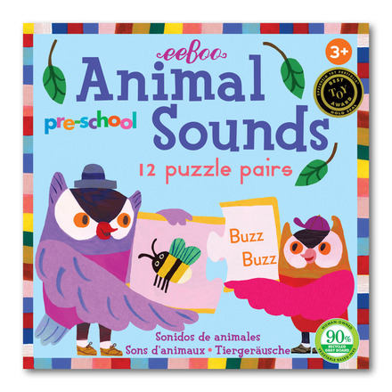 Preschool Animal Sounds Puzzle Pairs picture