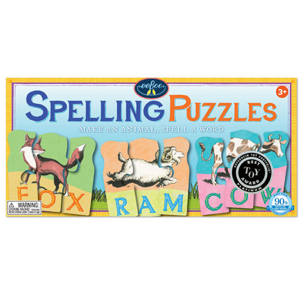 Animal Spelling Puzzle Revised picture