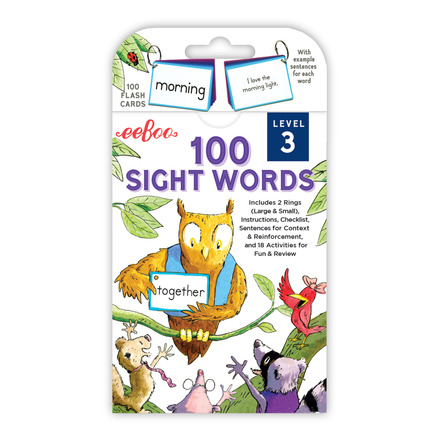 Sight Words Level 3 Flash Cards picture