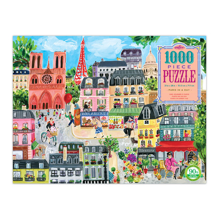 Paris in a Day 1000 Piece Puzzle picture