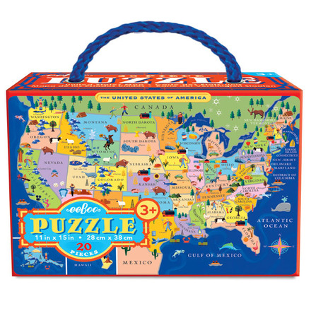 United States 20 Piece Puzzle picture