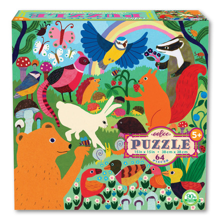 Busy Meadow 64 Piece Puzzle picture