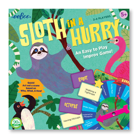 Sloth in a Hurry Action Game