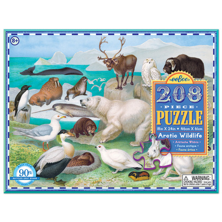 Wildlife of the Arctic 208pc Puzzle picture