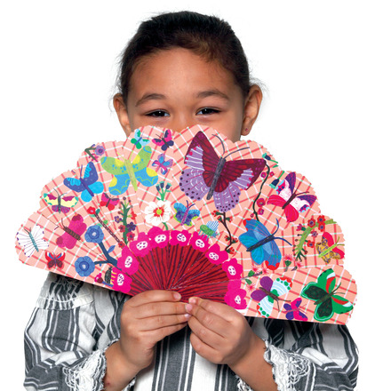 Assorted Paper Fans picture