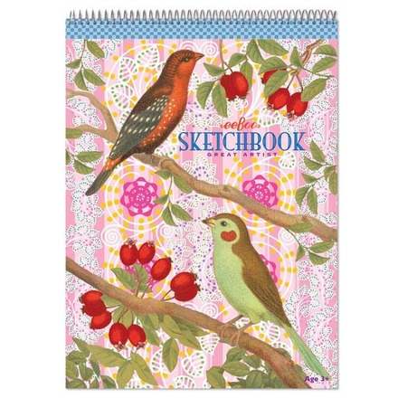 Birds and Berries Sketchbook picture
