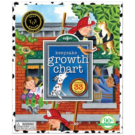Fireman Growth Chart picture