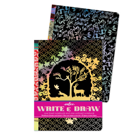 Silhouette Write and Draw Notebook Set