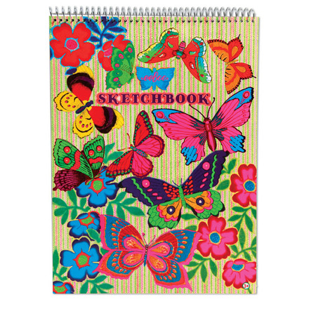 Fluorescent Butterfly Sketchbook picture