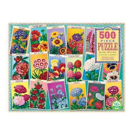Planting a Garden 500 Piece Puzzle picture