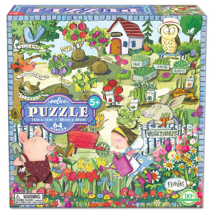 Growing A Garden 64 Piece Puzzle picture