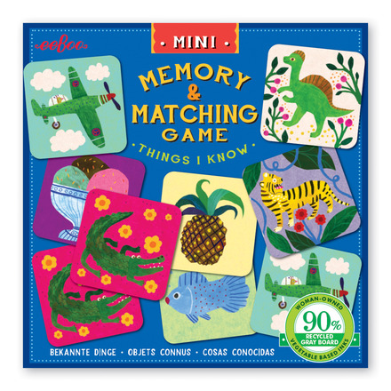 Mini Things I Know Memory Game picture