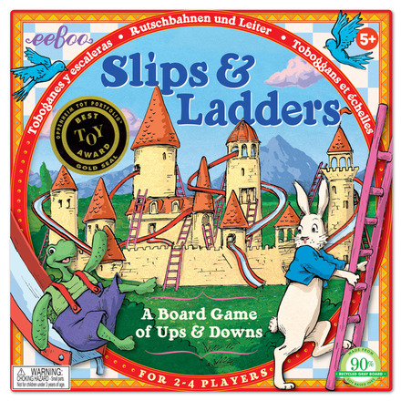 Slips & Ladders Board Game picture