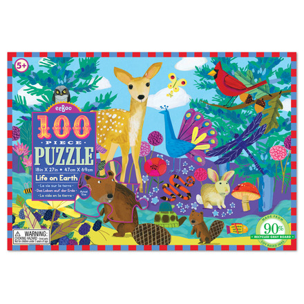 Life on Earth  100pc Puzzle picture