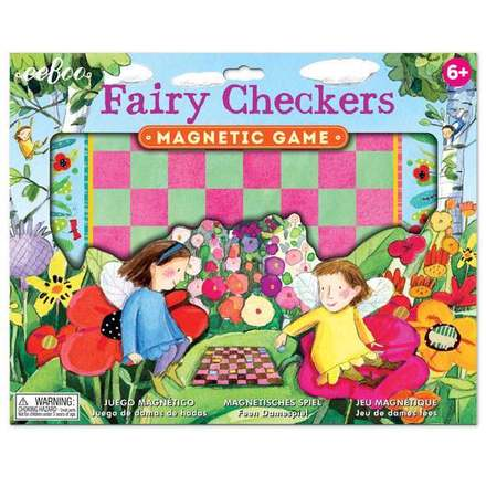 Fairy Checkers Magnetic Game picture