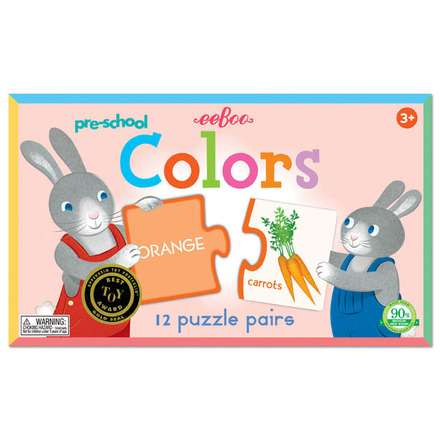 Pre-school Colors Puzzle Pairs picture